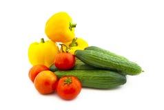 owocowi ustaleni różnorodni warzywa Zdjęcie Stock