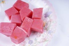 Owocowy agaru agaru deser (Galaretowy) Fotografia Stock