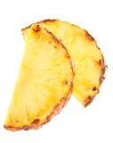 owocowy ananasowy plasterek Obrazy Stock