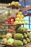 Owocowy bufet w restauracji zdjęcia stock