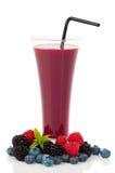 owocowy czarnej jagody smoothie Fotografia Stock