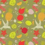 owocowy deseniowy bezszwowy Fotografia Stock
