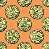 owocowy deseniowy bezszwowy Zdjęcia Stock