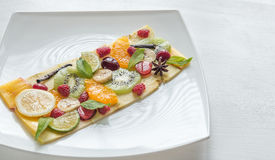 Owocowy i jagodowy carpaccio Zdjęcie Royalty Free