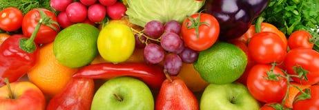 Owocowy i warzywa Zdjęcie Royalty Free
