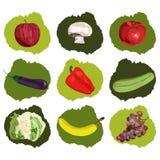Owocowy i warzywa Obraz Royalty Free