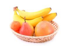 Owocowy kosz Zdjęcia Royalty Free