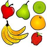 owocowy magazynki sztuki jedzenia healty Obrazy Stock