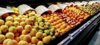 Owocowy pokaz Zdjęcia Stock
