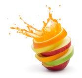 Owocowy poncz zdjęcia stock