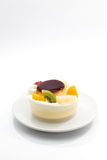Owocowy pudding Zdjęcia Royalty Free
