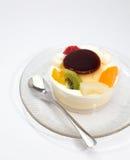 Owocowy pudding Obraz Royalty Free