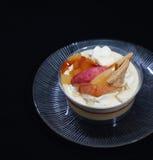 Owocowy pudding Fotografia Stock