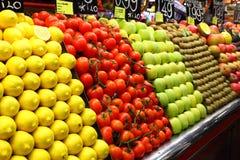 owocowy rynek Obrazy Royalty Free