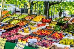 Owocowy rynek Zdjęcie Stock