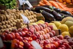 Owocowy rynek w Ateny, Grecja Zdjęcie Royalty Free