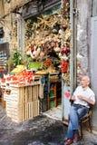 Owocowy rynek w centrum Naples Fotografia Royalty Free