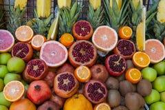 Owocowy rynek w Istanbuł Fotografia Royalty Free