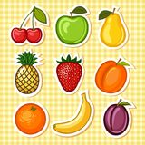 owocowy set royalty ilustracja