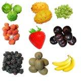 owocowy set Obrazy Stock