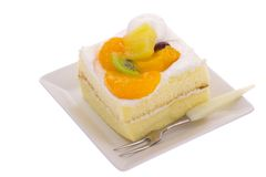 Owocowy shortcake Obraz Royalty Free