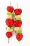 owocowy skewer obrazy stock