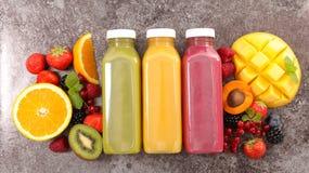 Owocowy smoothie, owocowy sok Obrazy Stock