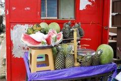 Owocowy stojak na poboczu Obraz Royalty Free