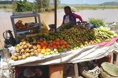 owocowy stojak w Madagascar Obraz Stock
