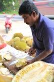 Owocowy stojak w Sri Lanka Obrazy Royalty Free