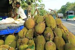 Owocowy stojak w Sri Lanka Zdjęcia Stock