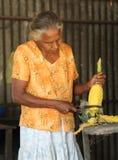 Owocowy stojak w Sri Lanka Zdjęcia Royalty Free