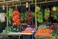 Owocowy stojak w Sri Lanka fotografia stock