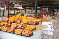 Owocowy stojak w Turcja Zdjęcie Royalty Free