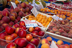 Owocowy stojak Zdjęcie Stock