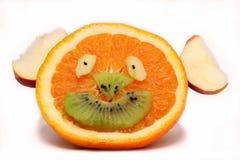 owocowy szczęśliwy twarz Zdjęcia Royalty Free