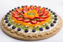 owocowy tarta Obrazy Royalty Free
