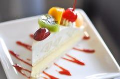 Owocowy tarta lub owoc tort Fotografia Stock