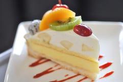 Owocowy tarta lub owoc tort Zdjęcia Stock