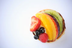 Owocowy tartlet Obrazy Royalty Free