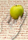 owocowy tekst Zdjęcia Stock