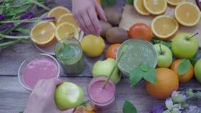 Owocowy zdrowy śniadanie zbiory