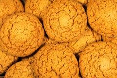 Owsów ciastek tło Obraz Stock
