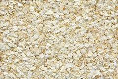 Owsów płatków tekstura Fotografia Stock