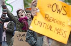 #OWS Burlington Vermont 2 Stock Afbeeldingen