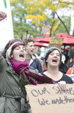 #OWS Burlington Vermont Royalty-vrije Stock Foto's