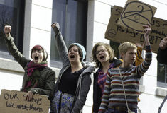 #OWS Burlington Vermont 3 Royalty Free Stock Images