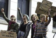 #OWS Burlington Vermont 3 Royalty-vrije Stock Afbeeldingen