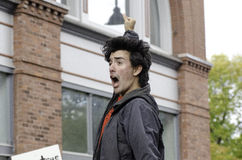 #OWS Burlington Vermont 4 Royalty-vrije Stock Fotografie