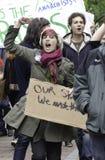 #OWS Burlington Vermont 4 Royalty-vrije Stock Afbeelding